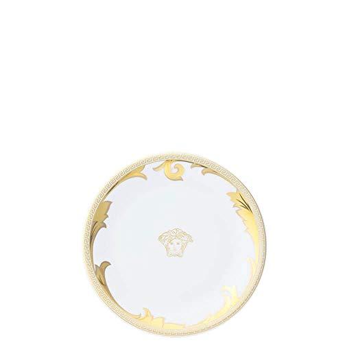2er-Set Versace Meets Rosenthal Ikarus Arabesque Gold Teller flach Durchmesser 19 cm.