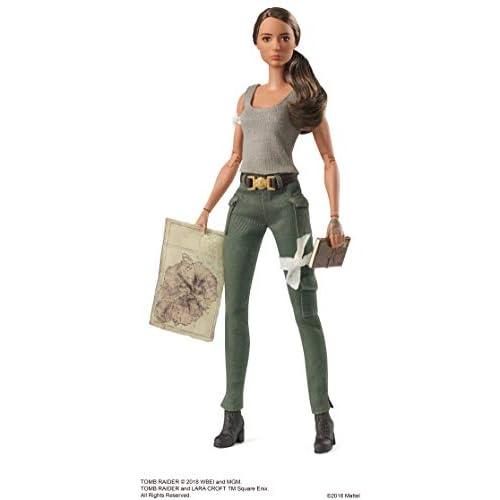 Barbie- Lara Croft-dal Nuovo Film di Tomb Raider-da Collezione, FJH53