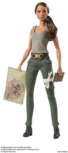 Barbie FJH53 Signature Lara Croft Puppe