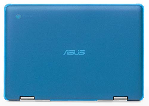mCover Hard Shell Case for 2019 11.6-inch ASUS Chromebook Flip C214MA Series (NOT Compatible with Other ASUS Chromebook Model) Laptop – ASUS C214 Aqua