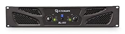 Crown XLi800 Two-channel, 300W at 4? Power Amplifier from Crown
