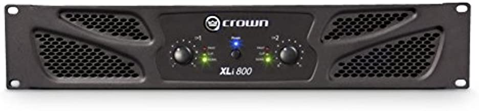 Crown XLi800 Two-channel, 300W at 4Ω Power Amplifier