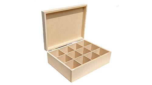 Artesanías Ramírez-Caja para te 12 divisiones
