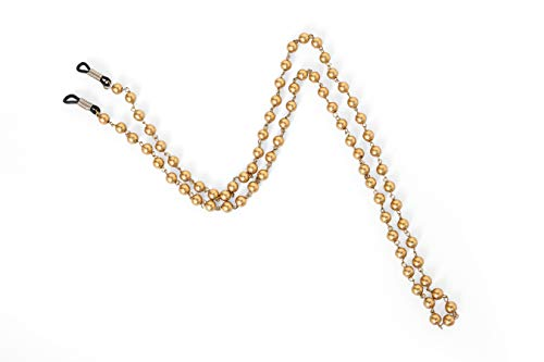 Beaded Eyeglass Sunglass Spectacle Cord Neck Strap String Chain Link Holder 74 cms