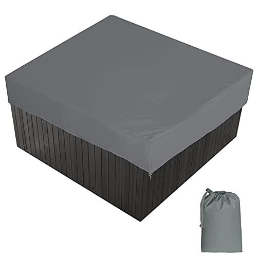 Massage-AED Cubierta para Jacuzzi Cubierta para Protección De Jacuzzi Protección UV...
