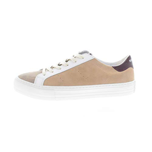 no name Arcade Sneaker - Coloris - Wood/dragee, Matiere - Gloom/g,Suede, Taille - 38