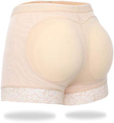 Padded Underwear Women Hip Enhancer Shapewear Butt Lifter Shaper Panties Butt Pads Shorts Beige product image