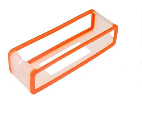 MeterMall Funda de Silicona portátil para Bose SoundLink Mini 1 2 Sound Link I II Protector de Altavoz Bluetooth Cubierta de la Caja de la Piel Altavoces Bolsa Bolsa Naranja