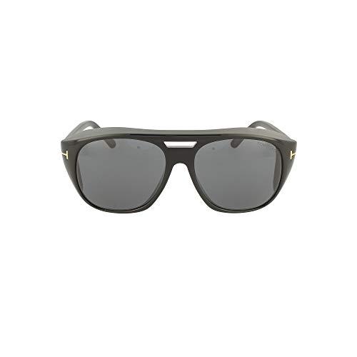 Tom Ford Gafas de Sol FENDER FT 0799 BLACK/SMOKE 59/16/145 hombre