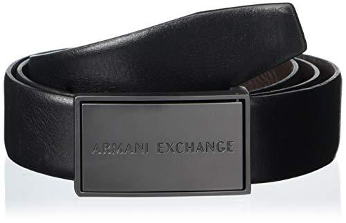 ARMANI EXCHANGE Cintura Uomo MOD. 95183CC525 Nero/Moro