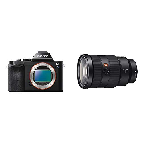 Sony ILCE7S/B Alpha a7S Mirrorless Digital Camera with Sony SEL2470GM E-Mount Camera Lens: FE 24-70 mm F2.8 G Master Full Frame Standard Zoom Lens