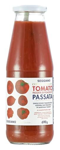 Photo of Seggiano Organic Tomato Passata, 690 g, Pack of 1