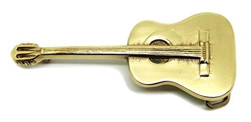avis marque guitare acoustique professionnel Boucle de ceinture pour guitare acoustique-thème de la musique-en laiton-le vrai baron …