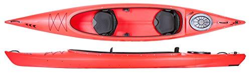 Prijon Custom Line CL 470 Relax offenes Zweier-Kajak für Familien und Verleih. , Prijon Ausstattung:Vollversion, Prijon Farben :rot