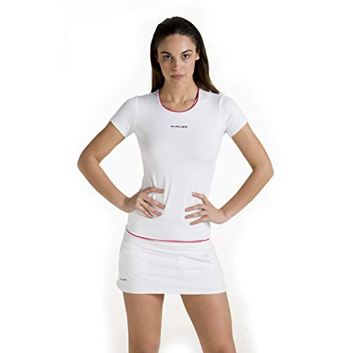 Duruss Rock_001 Falda Técnica, Mujer, Blanco, S