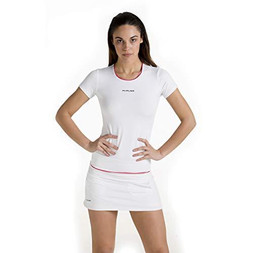 Duruss Rock_001 Falda Técnica, Mujer, Blanco, L