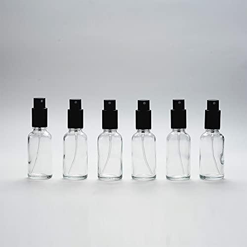 Yizhao Transparente Pulverizador Cristal 30ml, Glass Spray Bottles con [Atomizador],para Aceites Esenciales,...