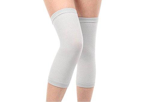 Senmir 1 Paar Knie Protectoren Knieschützer Beinstulpen, Outdoor Sports Kompression Knieschoner für Damen Herren