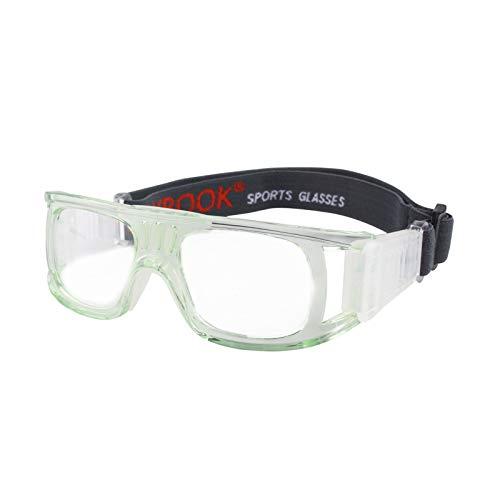 Andux Pallacanestro Calcio Calcio Sport Occhiali protettivi Occhiali degli Occhi Occhiali di Sicurezza LQYJ-01 (Verde Chiaro)