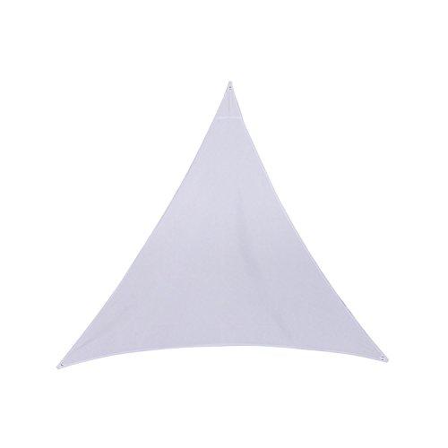 Hespéride Leinwand Solar/Sonnensegel ANORI–4x 4x 4m–weiß
