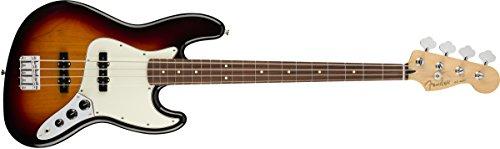 Fender Player Jazz Bajo eléctrico – Diapasón Pau Ferro – 3 colores Sunburst