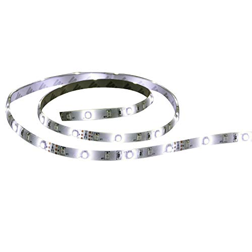 """T-H Marine LED-51956-DP LED Flex Strip Rope Light, 72"""" - White"""