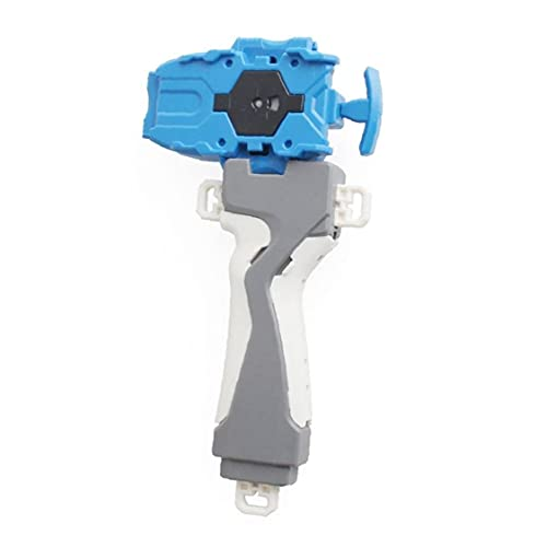 1pc Peonza De Alimentación Toma del Lanzador Juguete Interesante para Los Niños Juguetes Voladores Que Hacen Girar Los Regalos De Juguetes Exquisita Colección Blue