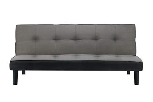 Birlea Aurora Sofabed, Grey Velvet, One Size