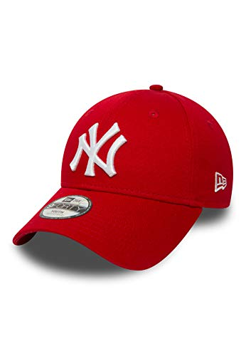 New Era New York Yankees MLB League Red 9Forty Adjustable Youth Cap - Child