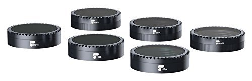 PolarPro Standard Series Filter 6-Pack Neutral Density and Polarizer Filter Set for DJI Mavic Air