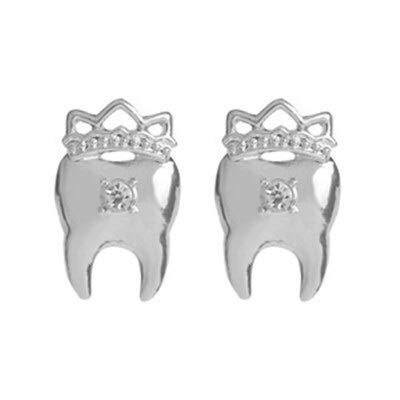 Brooches médicos colección de joyería de color oro plata ambulancia tubo jeringa de dientes pines para Doctor Friend (color metal: Doctor 2)