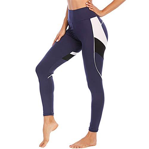 VGSD Yoga Pants Women Leggings Sport Yoga Leggings Pants Running Trousers Tights Sport Female Fitness Training Legging Blue