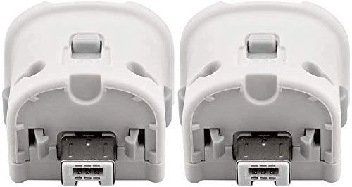 Maliralt Wii Motion Plus Adapteur- Pack de 2, XF10 Adaptateur d'accélérateur de capteur Externe Motion Plus pour Nintendo Wii / Wii U - Blanc