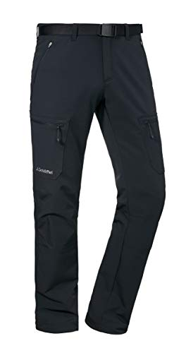 Schöffel Milano herenbroek, super comfortabele lange broek met 2-weg stretch, waterafstotende vrijetijdsbroek voor mannen met het hoogste comfort