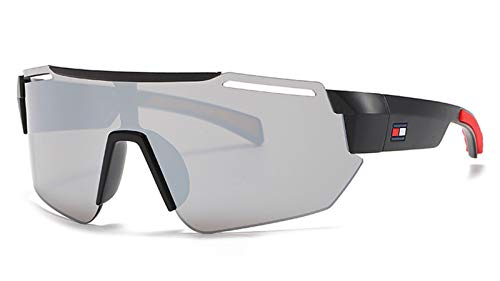 2021 Nuevos Hombres Deportes Gafas De Sol, Moda Impulsor De Montaña HD Gafas para Ciclismo De Pesca Grey