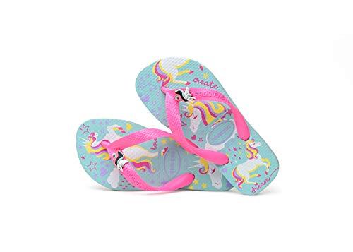 Havaianas Kids Fantasy, Infradito Unisex Bambini, Multicolore (Ice Blue/Shocking Pink 9548), 41/42 EU