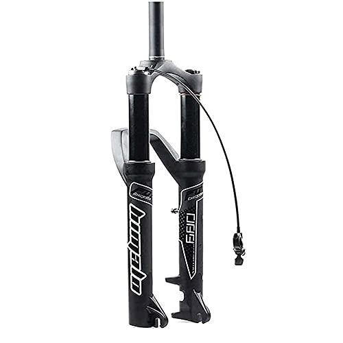 Tenedor de Bicicleta Bike Front Front Tenedor, Bicicleta Downhill Suspensión Tenedor de Aire Bifurcación 27.5/29 Pulgadas Aleación de Aluminio Amortiguador 15x110mm Thru Eje Viaje 160mm (Color: B, T