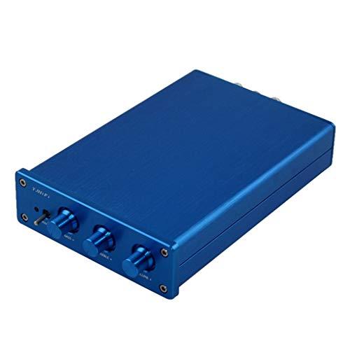 B Blesiya Amplificador Bluetooth de Alto Rendimiento 2.1 HiFi Digital 50 W * 2 + 100 W para Home Theatre