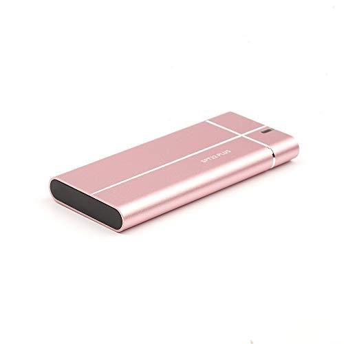 1 TB Ssd externa de estado sólido Drive, 512gb / 256gb rápido enfriamiento portátil de disco duro móvil, Apto for PC de escritorio, Ordenador portátil, Teléfono inteligente TV y otros dispositivos