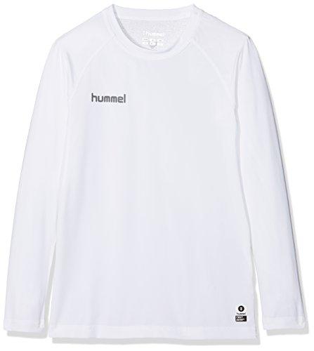 Hummel Kinder First PERF Long Sleeve Jersey Trikot, Weiß, 140