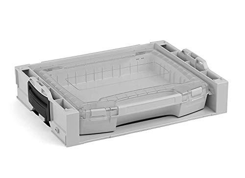 i-BOXX Rack aktiv mit i-BOXX 72 | Werkzeugkoffer stapelbar Bosch | Werkzeugaufbewahrung System Regal | Ideal für i-BOXX 72 & LS-Schublade 72