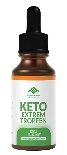 Keto Extrem Gouttes   Bloqueur de glucides   Bloqueur de glucides   Liquide de cétose   10 ml