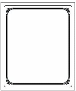 The Library Store Laser And Inkjet Bookplates with Preprinted Frame Border 150 Pack