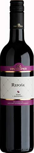 Vinakoper - Refošk 0,75 lt aus Istrien - EINWEG