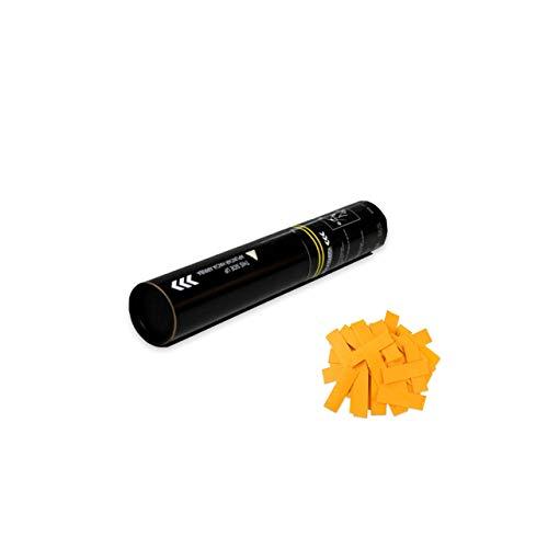 EUTOPICA Cañón Confeti Manual 30 cm (Naranja) | 24/48H laborables | #WeLoveConfeti