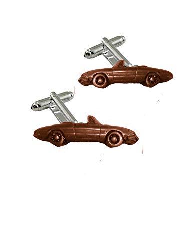 me Manschettenknöpfe aus Kupfer im klassischen italienischen Sportwagen-Stil von Romeo Spider