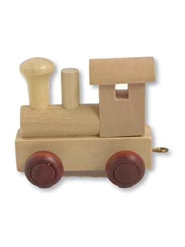 Holz namenszug | Buchstabenzug holzzug | Holz buchstabenzug namenszug für den Namen der Kinder (Buchstabenzug Lokomotive)