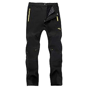 Singbring Mens Outdoor Windproof Waterproof Hiking Ski Snow Pants