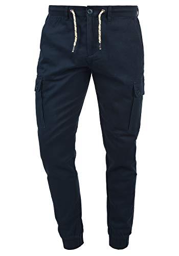 Blend Sellini Herren Cargohose Lange Hose, Größe:W33/34, Farbe:Navy (70230)