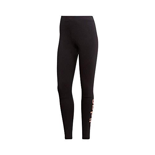 adidas Damen Essentials Linear Tight, Black/Haze Coral, M